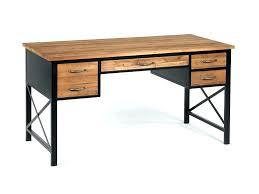 Bureau Metal Et Bois - bureau mactal et bois bureau metal et bois bureau bois metal