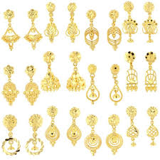 hanging earrings 22ct yellow gold hanging earrings bundle 01 market orders 22