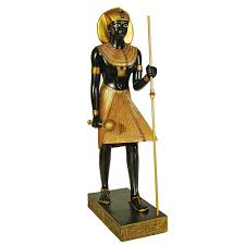 egyptian tomb guardian 12 inch high statue treasures of king tut