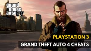 grand theft auto 4 cheats for playstation 3 shop find