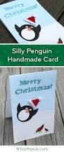penguin slip u0026 slide holiday card u2022 northpole com craft cottage