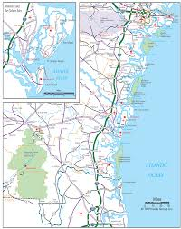 Map Of East Coast Florida by Georgia Coast Map