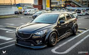 stanced smart car stance mazda cx5 cartuning best car tuning photos from all the