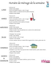 organisation du travail en cuisine resultado de imagen para les tàches ménagères francés