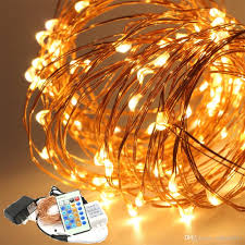 led christmas lights with remote control 2018 remote control dimmable christmas lights 10m 100 led copper