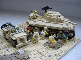 jeep tank military lego sherman tank used by 8th army in desert sherman used u2026 flickr