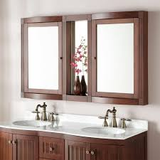 everett vanity mirror white bathroom 60 inch wide framed modern