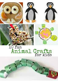 10 fun animal crafts in the playroom