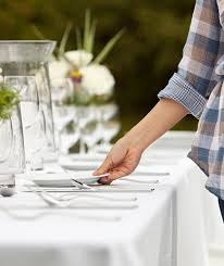 table setting how to set a table basic casual and formal table settings real