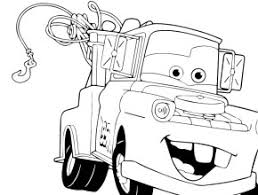 cars coloring pages mater tow truck francesco cars 2 coloring