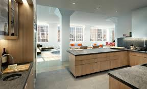 cuisine ouverte sur salon model faux plafond salon 13 cuisine ouverte sur salon une