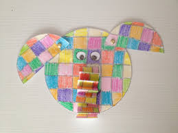 another elmer the elephant craft idea tales from everywhere