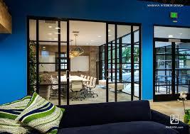 office design dark blue office walls blue gray office walls blue