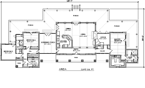 ranch style house plan 3 beds 2 50 baths 2693 sq ft plan 140 149 - Ranch Style House Floor Plans