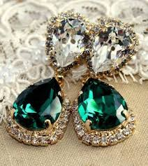 green earrings jewels earrings jewelry diamonds emerald green emerald