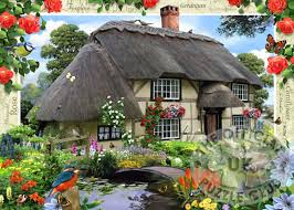 country cottage ravensburger jigsaw puzzles river cottage no 5 country cottages