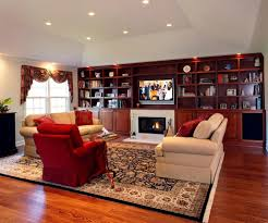angled tray ceiling family room traditional with tray ceiling