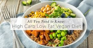 high carb low fat vegan diet all you need to know