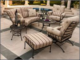 Wrought Iron Patio Chair Used Wrought Iron Patio Furniture Patios Home Decorating Ideas