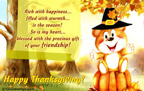 the precious gift on thanksgiving free friends ecards greeting