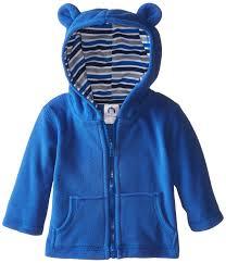 gerber baby boys hooded micro fleece jacket clothing