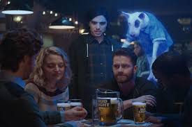 bud light commercial friends spuds mackenzie is back as a ghost in bud light super bowl ad