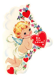 free vintage image cupid with heart the graphics fairy