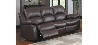 3 seater recliner sofa brown leather recliner sofa set