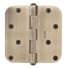 Design House 202556 Door Hardware Hinges by Baldwin 4 In X 5 8 In Venetian Bronze Radius Hinge 9br7027 001