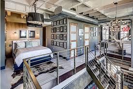 2 story loft floor plans 2 story loft in corner of hollywood vine hollywood hills real estate