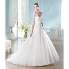 sweetheart neckline wedding dress lace and tulle half sleeve sweetheart neckline a line wedding