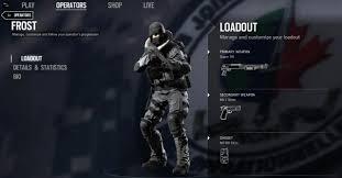 Rainbow Six Siege Operators In Rainbow Six Siege Operators Leaked Gamer Assault Weekly