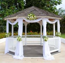 How To Decorate A Backyard Wedding Best 25 Gazebo Wedding Decorations Ideas On Pinterest Gazebo