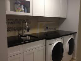 Laundry Room Base Cabinets Counters Installed Mdb S Basement