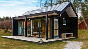 scandinavian modern tiny house absolutely small house design