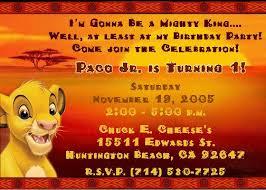 8 best lion king invites images on pinterest lion king birthday