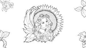 fairy coloring pages coloringsuite com