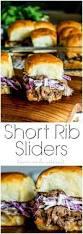 short rib sliders home made interest