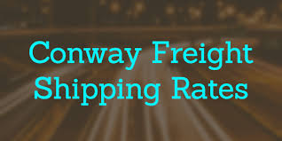 Freight Shipping Estimate by Conway Freight Shipping Rates Conway Freight Ltl Shipping Quotes