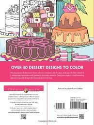 creative haven designer desserts coloring book creative haven