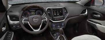 jeep cherokee black 2018 jeep cherokee versatile interior features