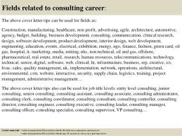 consulting cover letters consulting firm cover letter trend