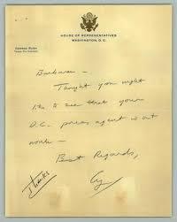 letter from barbara c jordan to george h w bush april 3 1967