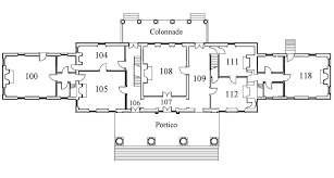 celebrity house floor plans restored floor plans montpelier curatorial blog