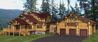 Log Home Plans Log Home Plans Streamline Design