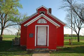 one room schoolhouse from sand creek clip art library
