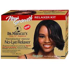 dr miracle hair dr miracle s new growth intensive no lye relaxer kit regular 1