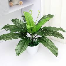 office plant artificial silk foliage plant simulaton plastic large boston fern