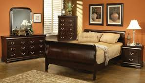 Sleigh Bed Bedroom Set Coaster Louis Philippe Cappuccino Sleigh Bedroom Set 203981 Bed