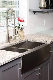 granite composite farmhouse sink kitchen sinks vessel stainless steel farmhouse sink rectangular